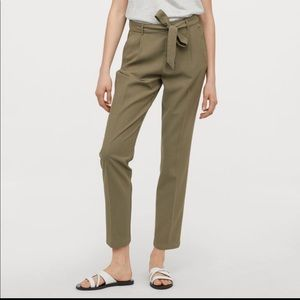NWT Pants with tie belt